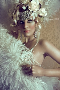 Cigno mezzobusto - Sophie Champagne Burlesque Milano
