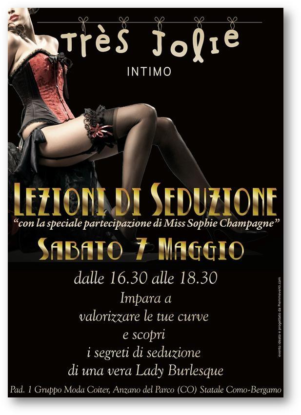 lezioni di seduzione burlesque Milano