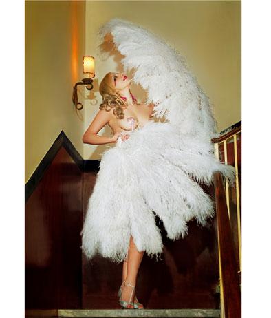 Miss Sophie Champagne per Mostra Burlesque di Marco Girolami