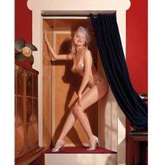 Ritratto di Miss Sophie Champagne per Calendario Burlesque di Marco Girolami