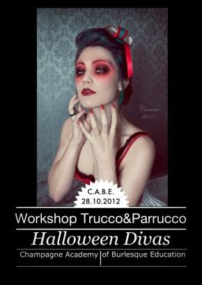 """Workshop di trucco e parrucco teatrale """"Halloween Divas"""""""