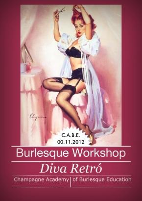 """Workshop Burlesque """"Diva Retró"""" a Cernobbio(CO)"""