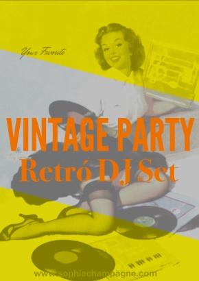 Vintage Party: Cena Con Burlesque & Retrò DJSet