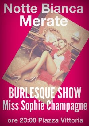 Burlesque Show alla Notte Bianca diMerate