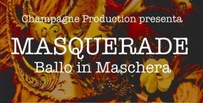 """Miss Sophie Champagne ospite a """"Masquerade"""" Ballo in Maschera al CastelloBeccaria"""