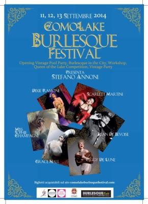 In Italia arriva il Como Lake BurlesqueFestival!!