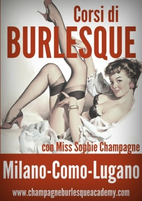 Ricominciano i corsi di burlesque all'Accademia di Miss SophieChampagne!