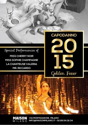 Capodanno Golden Fever alla MaisonMilano